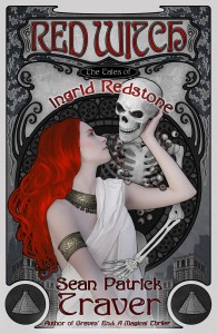 RedWitchCover / Illustration by Catherine P Langwagen CassiopeiaArt.com
